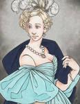 VIRAGO: Agnes Portrait, colored