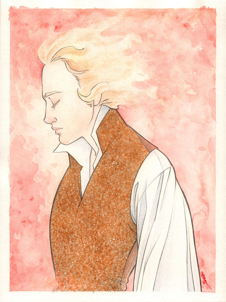 Golden Enjolras by cillabub