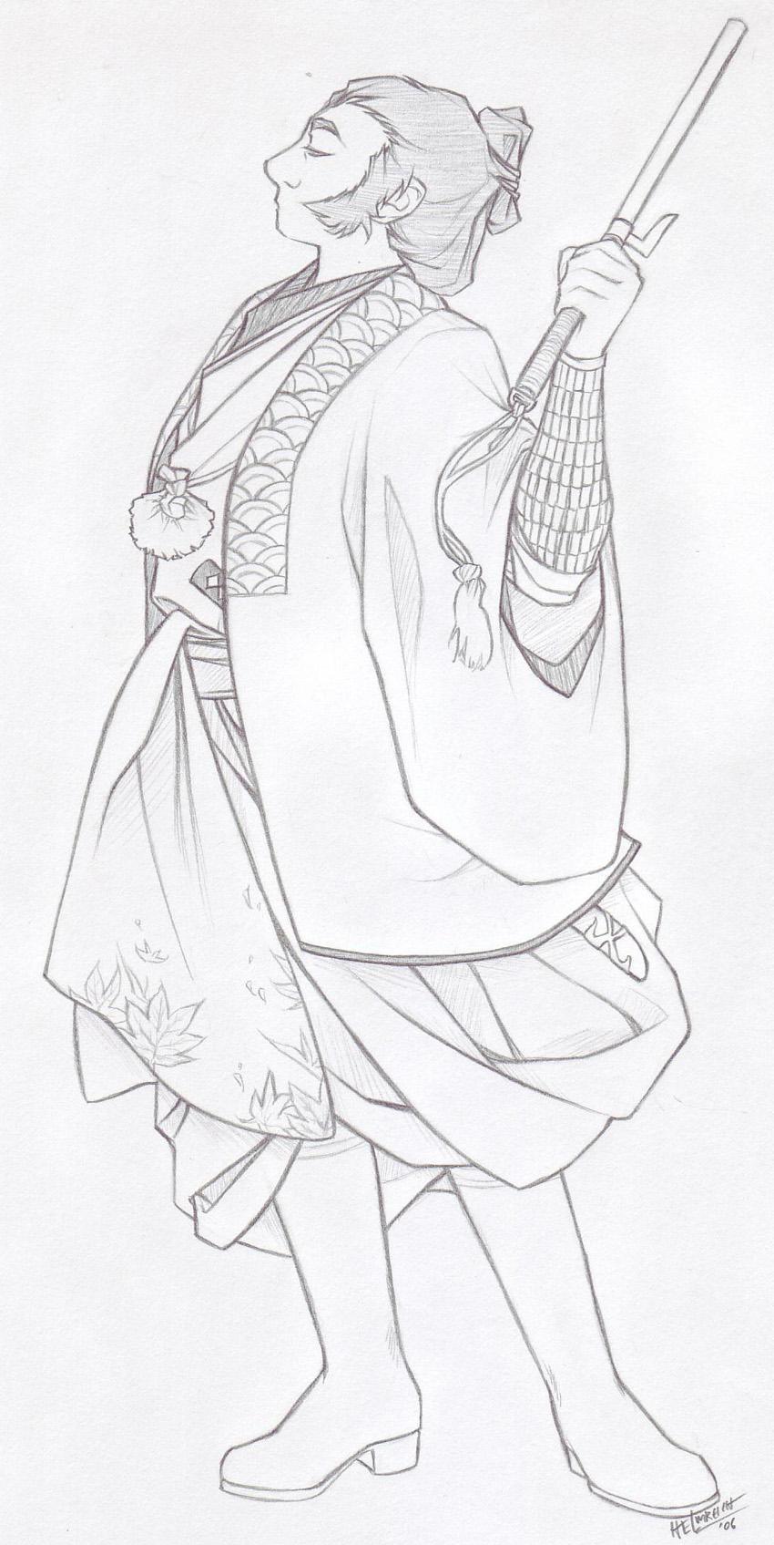 Javert makes hakama cool again by cillabub