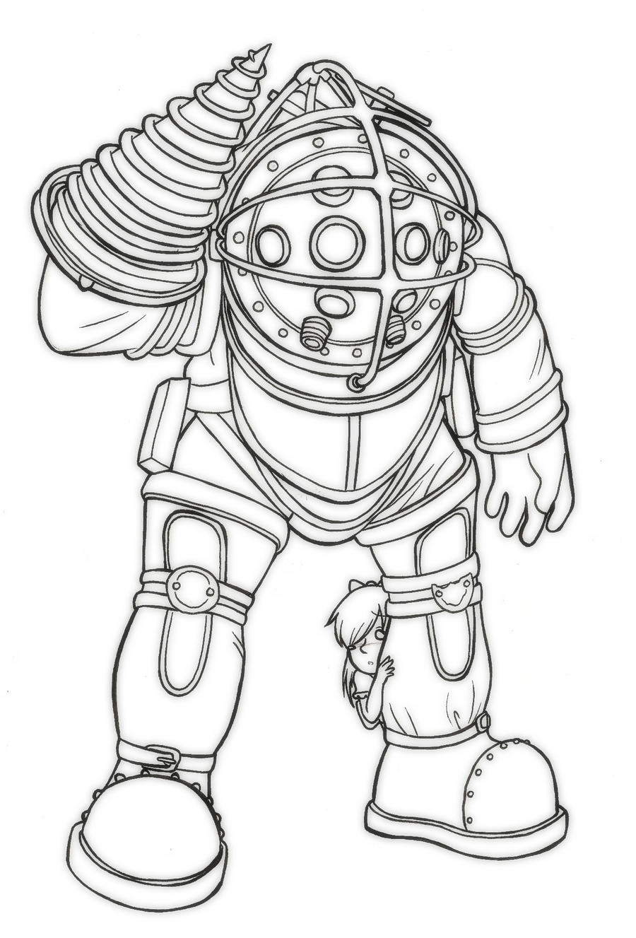 How To Draw Big Daddy