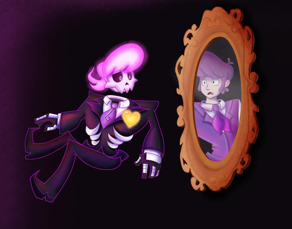 Mystery Skulls- Ghost by GenerallyUnamused