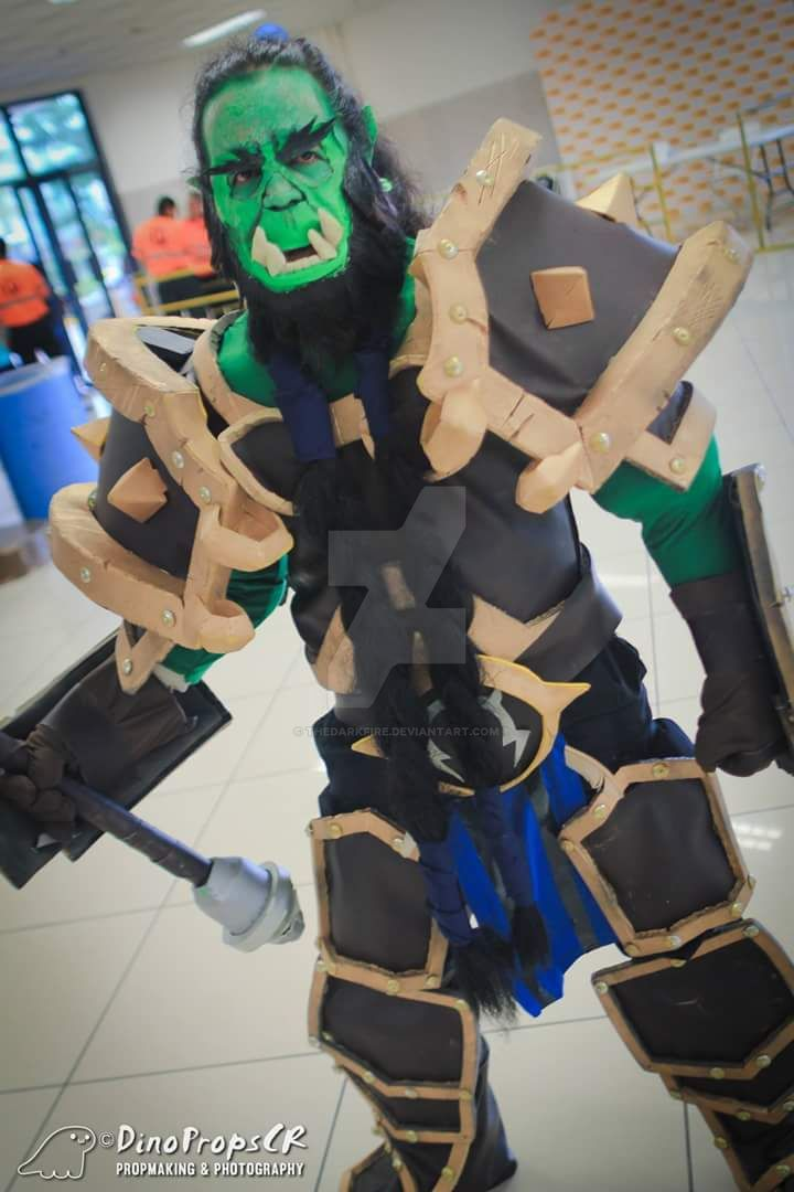 Thrall Warchief Cosplay 2 - Heroes of the Storm by TheDarkFire