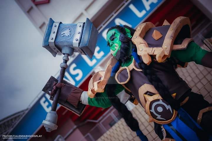 Thrall Warchief Cosplay 3 - Heroes of the Storm by TheDarkFire