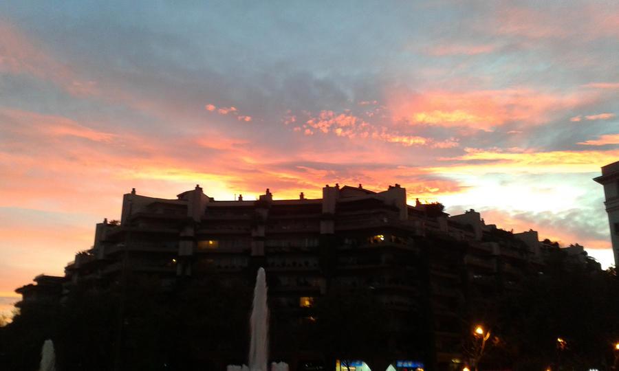 Plaza De San Bernardo (sunset) By Lady-Laryssa On DeviantArt