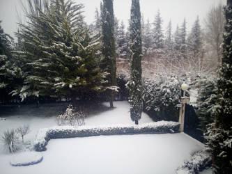 Snowy days by SlytherinRoja