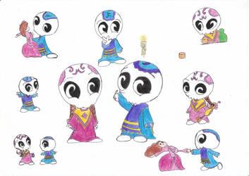 Dibujo Para Mi Hermana La Leyenda De La Nahuala By Mara1264427 On