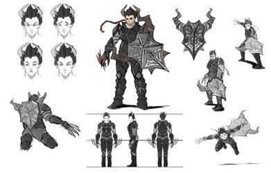 Male Character by Darktaru