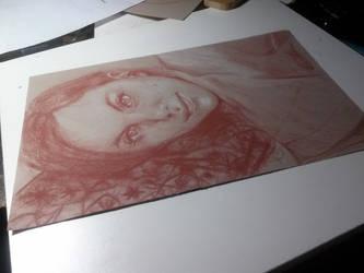 Portrait Drawing by Darktaru