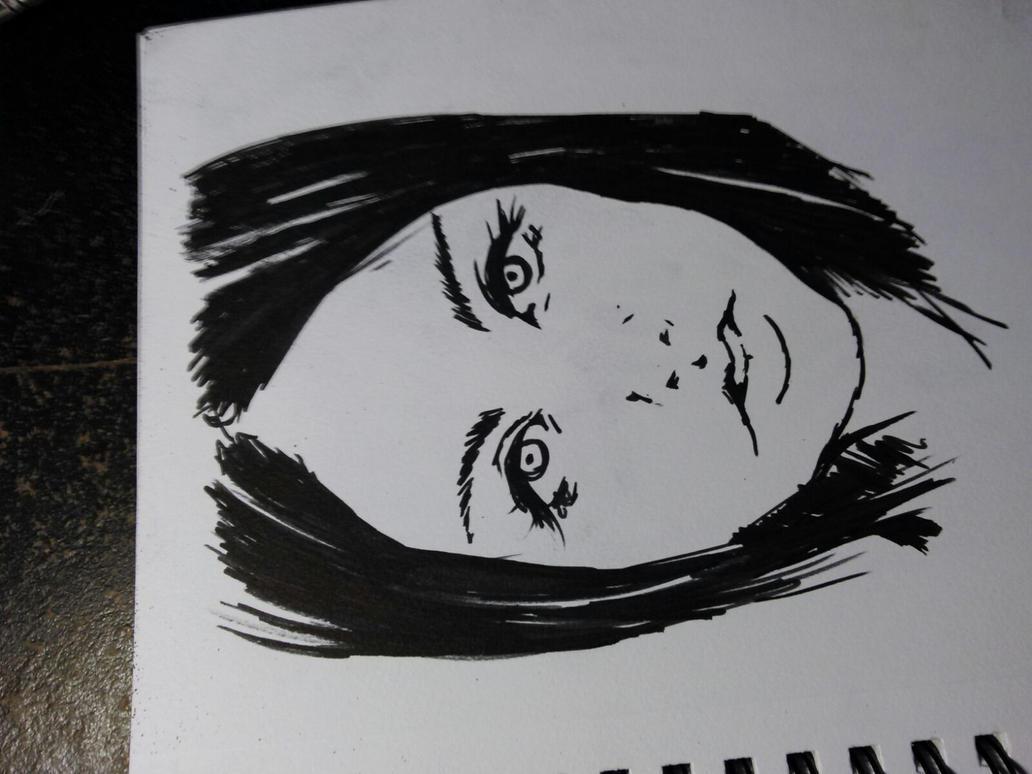 Portrait of a friend by Darktaru