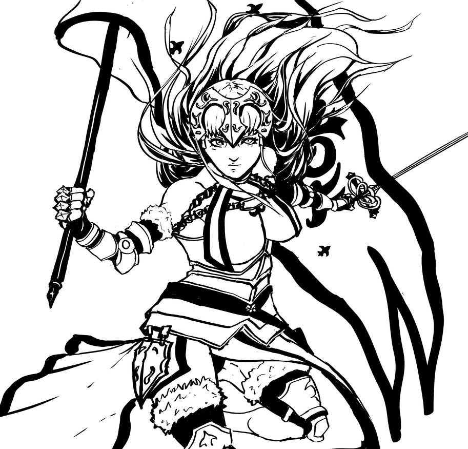 Jeanne d'arc by Darktaru