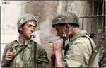 Fallschirmjager, smoke break