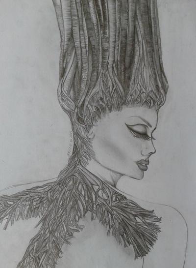 tree lady by wontstopdyin