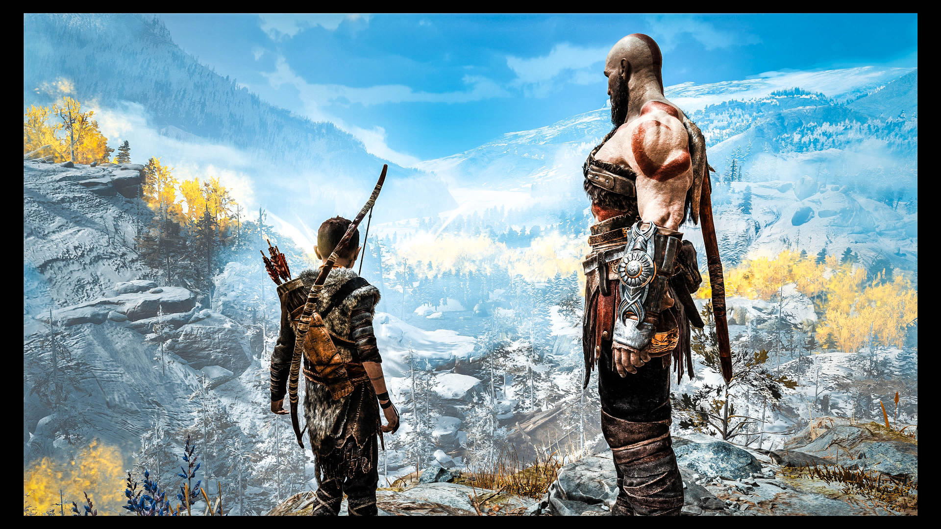 God Of War 4 Wallpaper 4k By Opticalstimulations On Deviantart