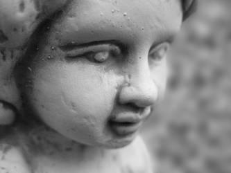 Little creepy girl...