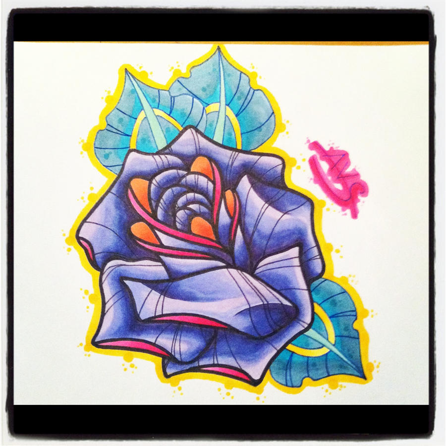 New school tattoo design -  Tattoo Flash New School Flower By Paintball0531 New School Flower By Paintball0531 Bleeding_rose_tattoo_design_by_ravenkiokoshietu Jpg
