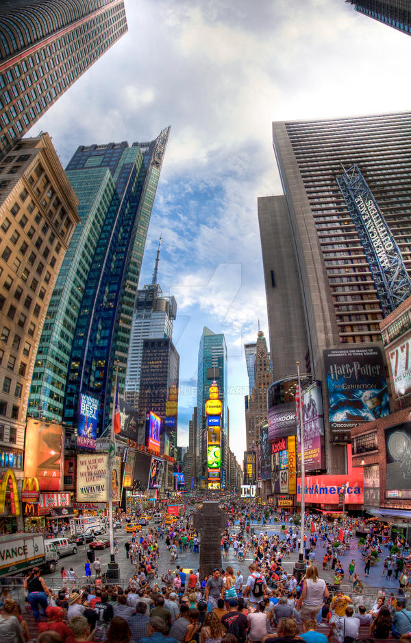 Times Square, New York by avrin1