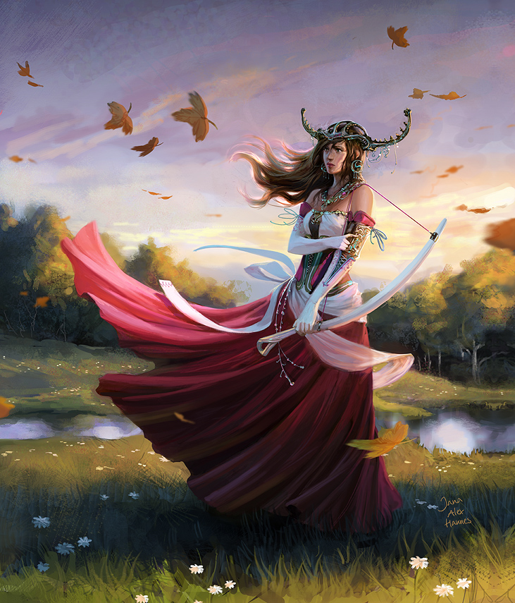 collab with jana and alge 1 by AlexPascenko