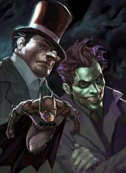 batman by AlexPascenko