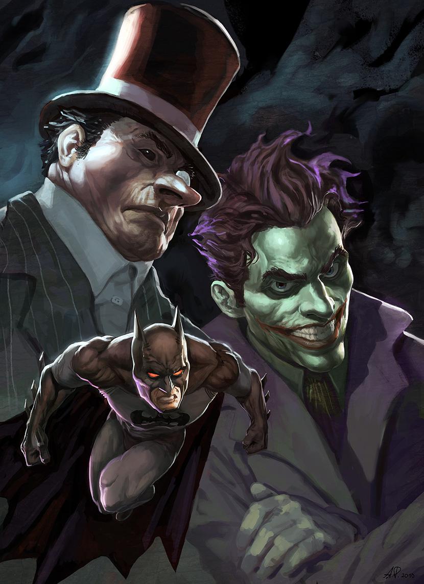 Képek a képregény világából Batman_by_AlexPascenko