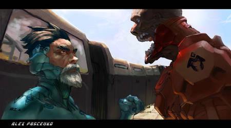 the train by AlexPascenko