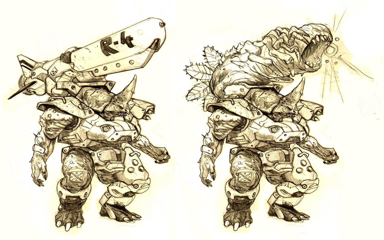 rhinomon by AlexPascenko