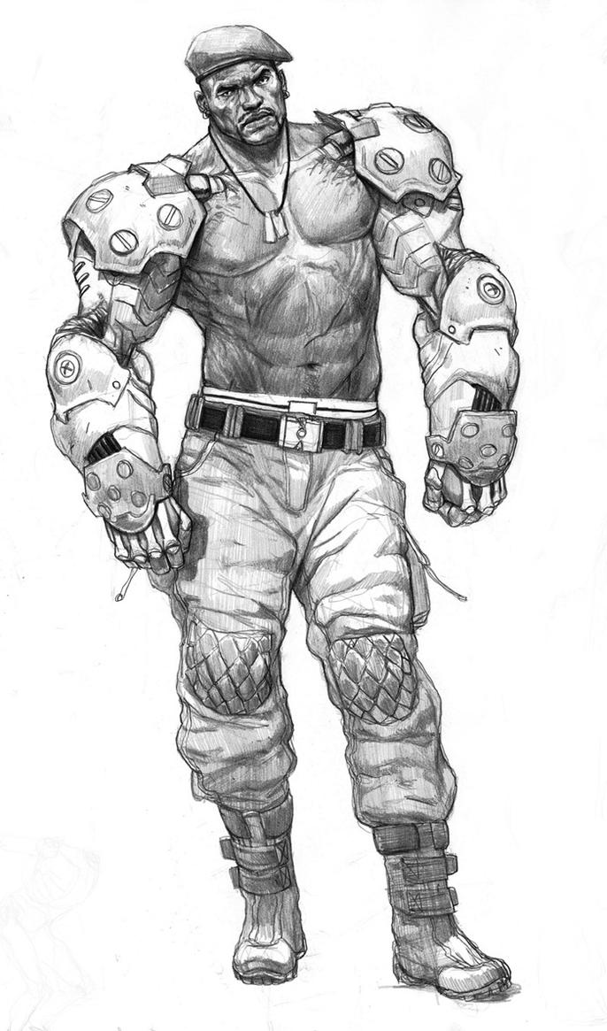 Jax Briggs by AlexPascenko