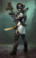 Tri Origin Charactersketch by AlexPascenko