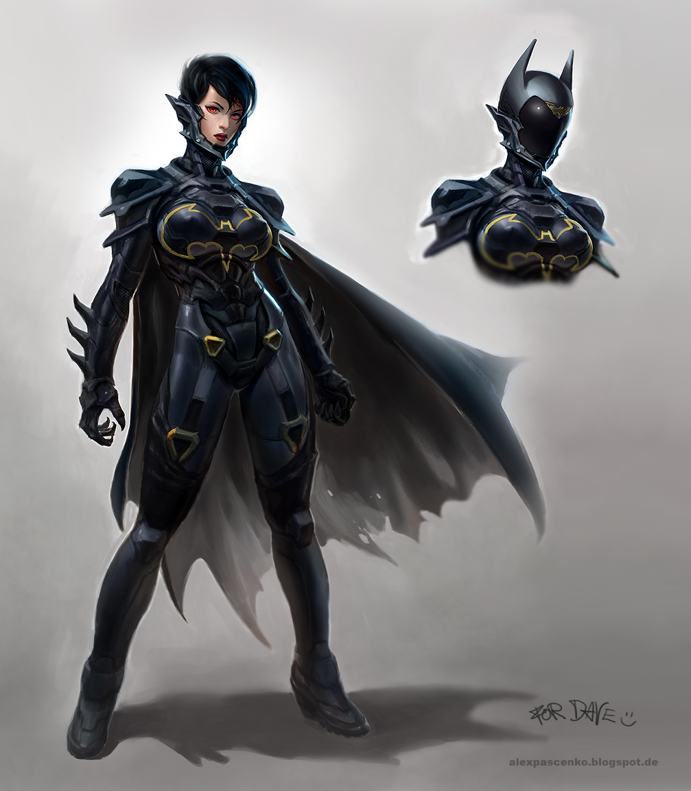 The Cassandra Cain Batgirl by AlexPascenko