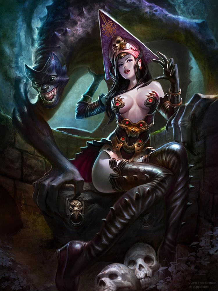 witch advanced by AlexPascenko