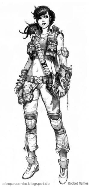 field doctor female