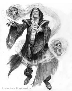 Sarzec -Necromantic Elf