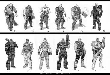 GoW Thumbs by AlexPascenko