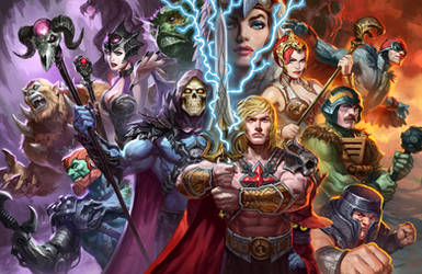 Masters of the Universe by AlexPascenko