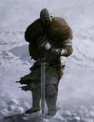norse warrior by dastcher