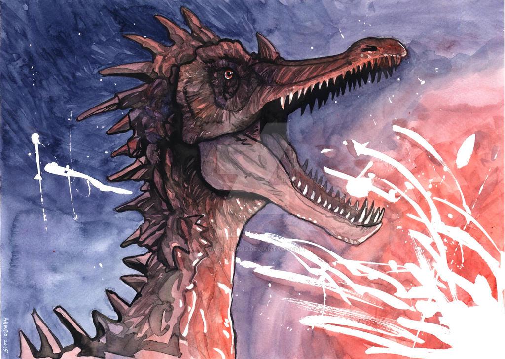 Suchomimus by Saurian2012