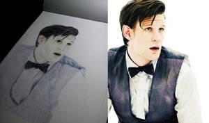 Work in progres - The 11th Doctor - Matt Smith by Whovian-Potterhead