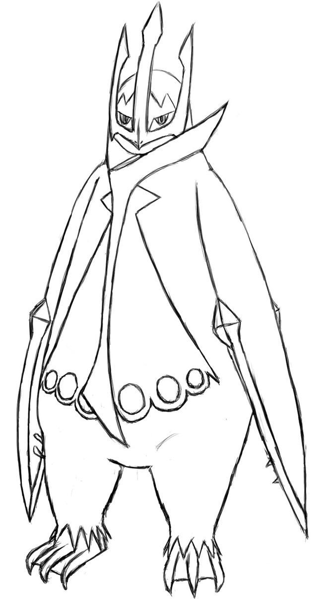 Empoleon pokemon coloring pages ~ Empoleon Sketch by Terminate421 on DeviantArt