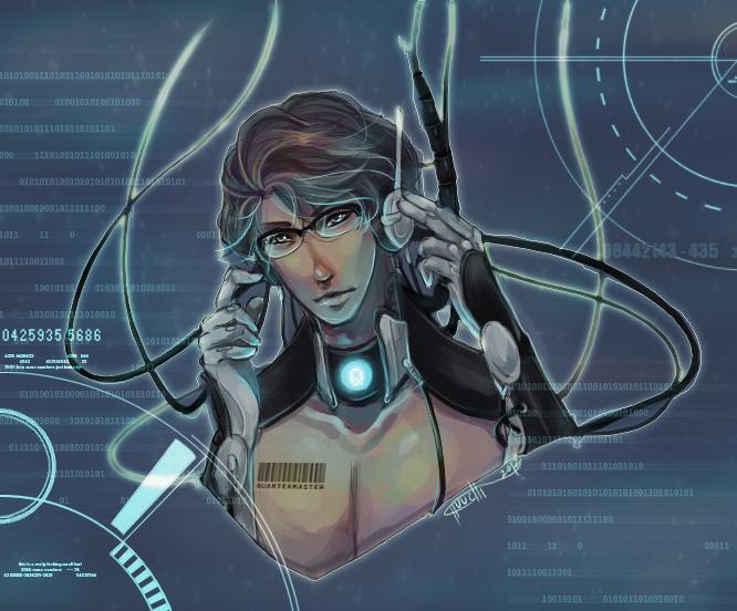 :Quartermaster: Cyborg by Chuuchichu