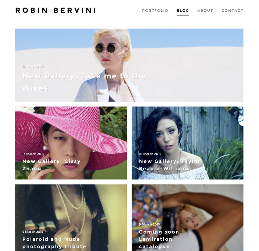 My official website by Robin-Bervini