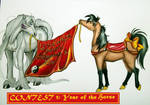 Year Of The Horse by ladyshenzuki