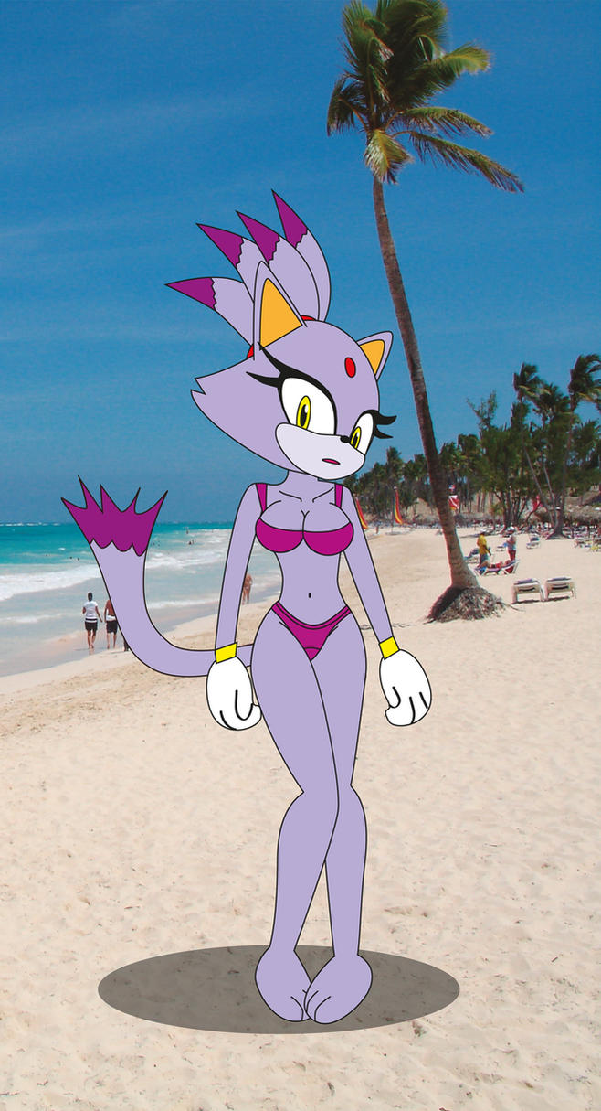 Blaze the cata sexy at the beach by CoNiKiBlaSu-fan