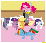 I just wanted to sleep with fluttershy