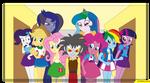 Discord Equestria girls fanfic
