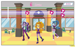 Equestria girls The the dazzlings - gameloft -