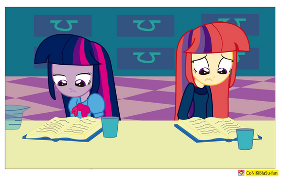 Twilight Sparkle - Equestria girls -amending fence