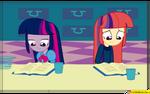 Twilight Sparkle - Equestria girls -amending fence