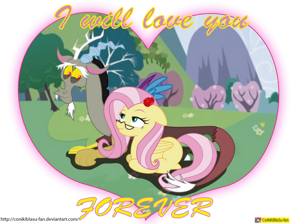 Fluttercord - hearts and hooves day by CoNiKiBlaSu-fan on DeviantArt