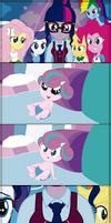 My little pony -  Flurry Heart - Equestria girls by CoNiKiBlaSu-fan