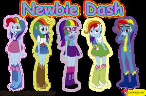 My little Pony - Equestria Girls - Newbie Dash by CoNiKiBlaSu-fan