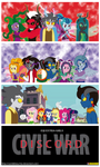 Equestria Girls - Discord - Civil War by CoNiKiBlaSu-fan